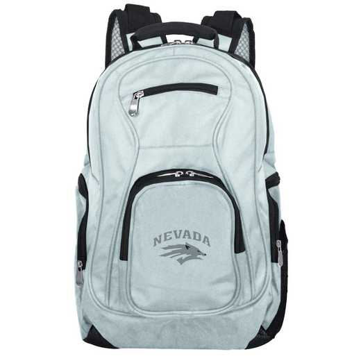CLNAL704-GRAY: NCAA Nevada Wolf Pack Backpack Laptop
